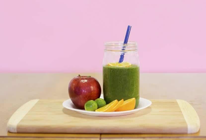 Dieta equilibrada zumos verdes