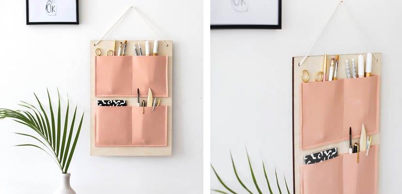 Organizador de pared para escritorio
