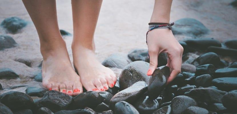 pies de chica