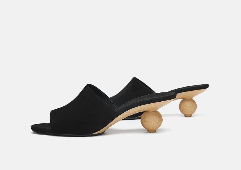 Zapatos originales en Zara