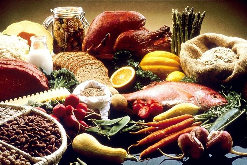 Alimentos con nutrientes