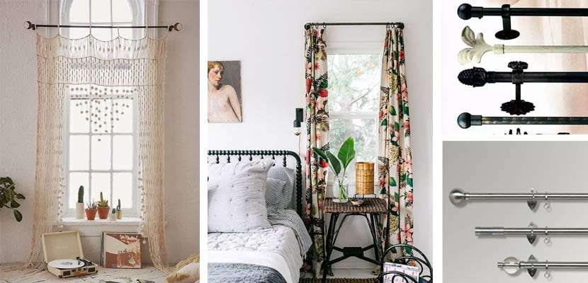Barras de cortina