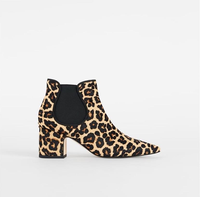 botines leopardo Zara