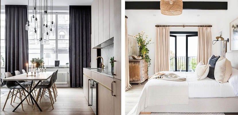 3 formas de colocar las cortinas en tus ventanas - Formas de cortinas ...