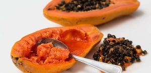 Mascarilla de papaya