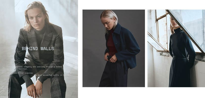 Editorial Massimo Dutti: Behind walls