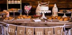 Mesa dulce en la boda