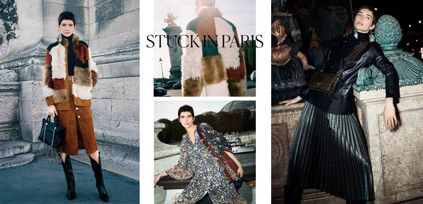 Editorial de Uterqüe: Stuck in Paris