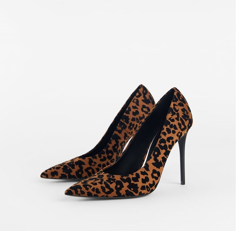 zapatos salón tacón fino