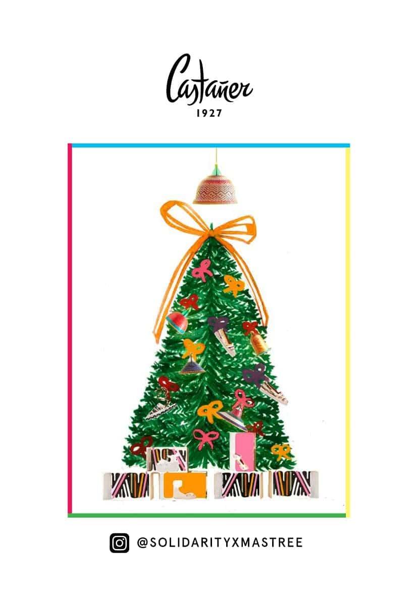Árbol de navidad Castañer