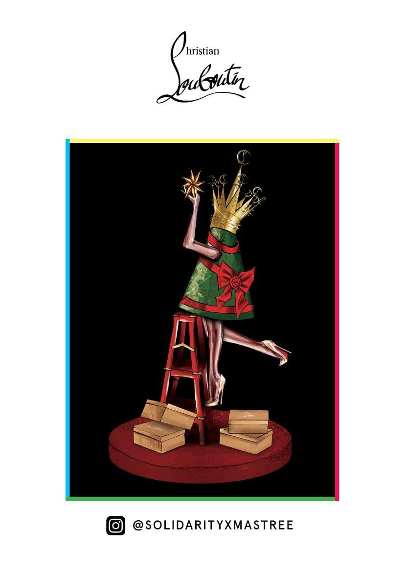 Árbol Navidad Louboutin