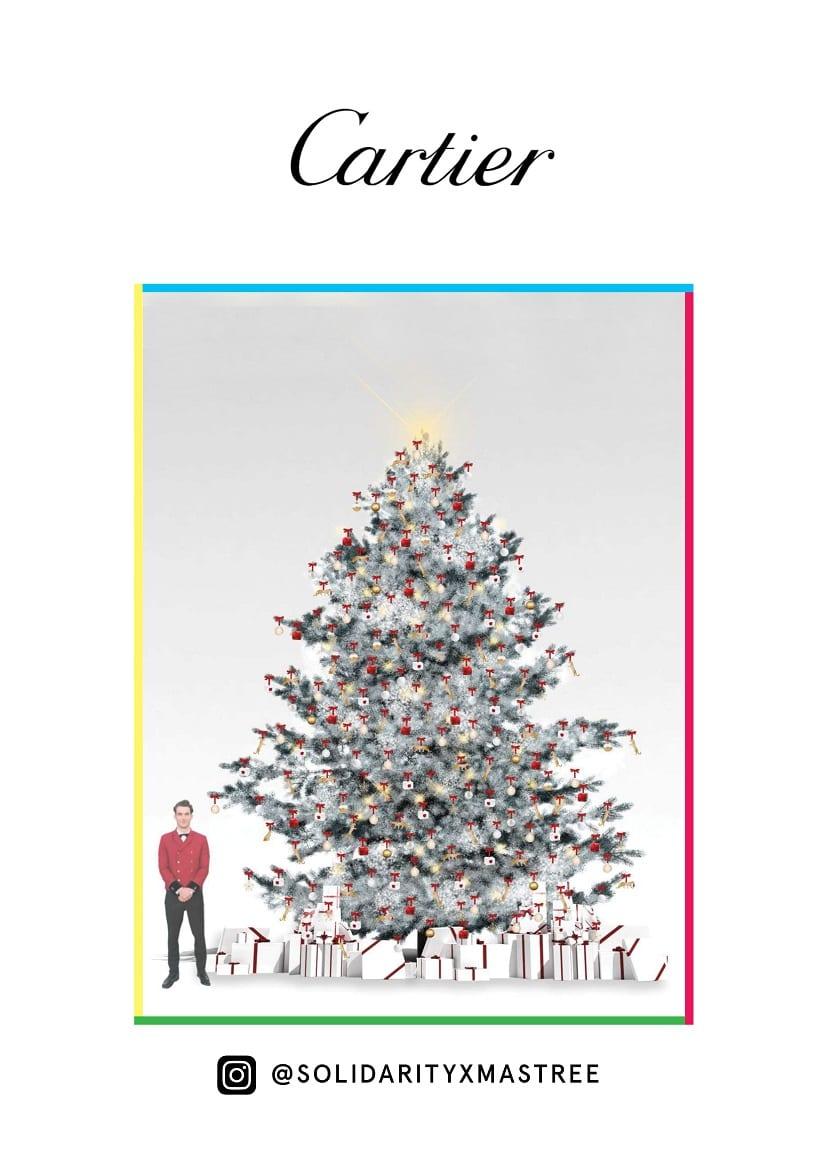 Árbol navidad Cartier