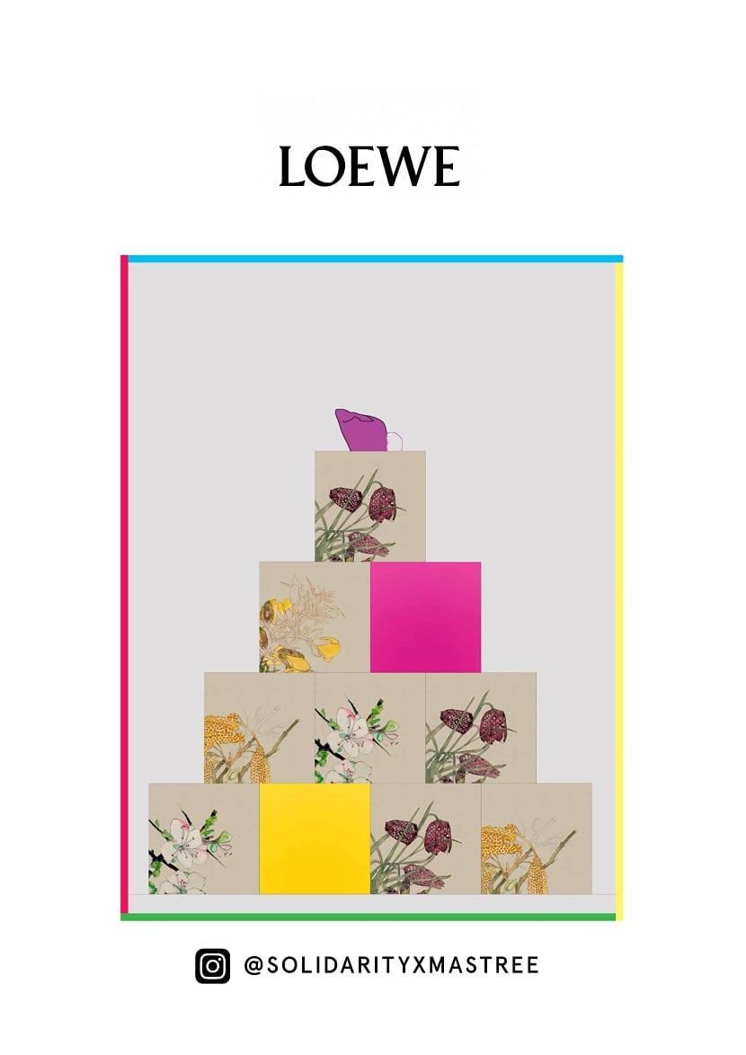 Árbol Navidad Loewe