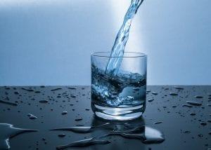 Agua para la digestión