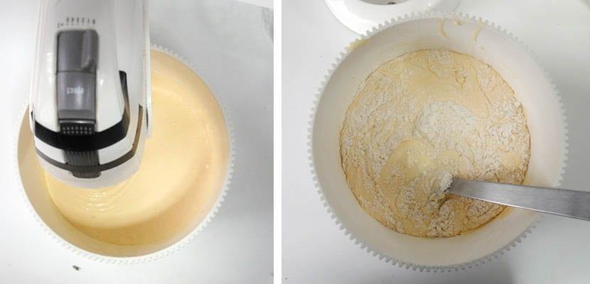 Bizcocho de peras con leche condensada