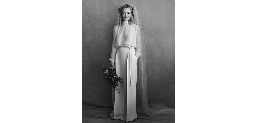 Vestido de novia de Marta Ortega