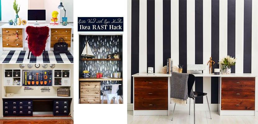 Ikea Rast: mesas de trabajo