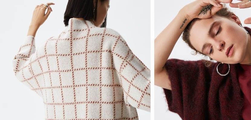 Jerséis de lana de Adolfo Dominguez