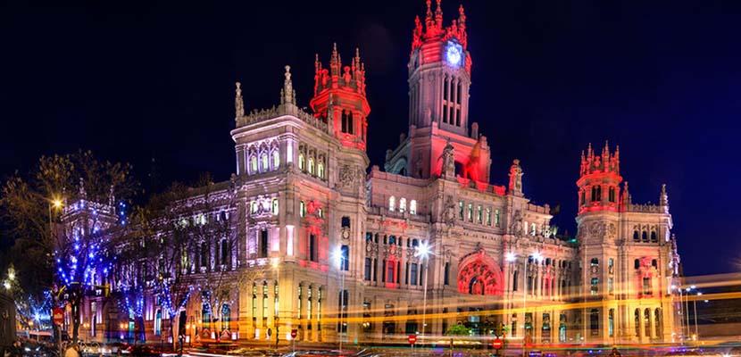 Madrid en Navidad