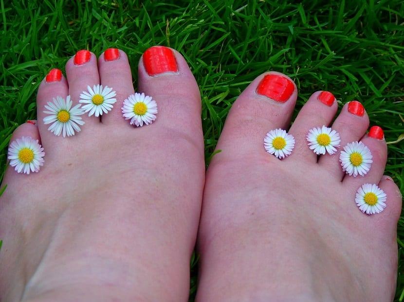Uñas encarnadas en los pies
