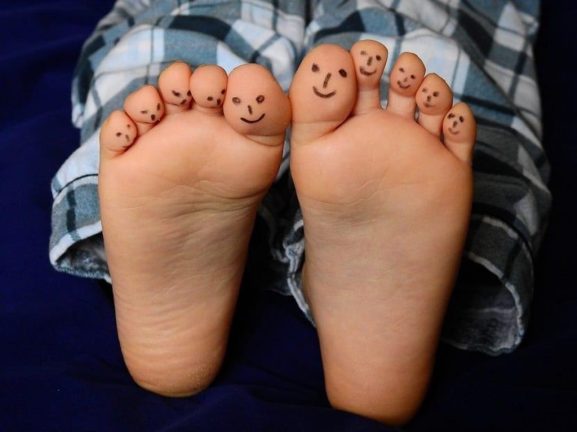 Tipos de almohadillas para pies