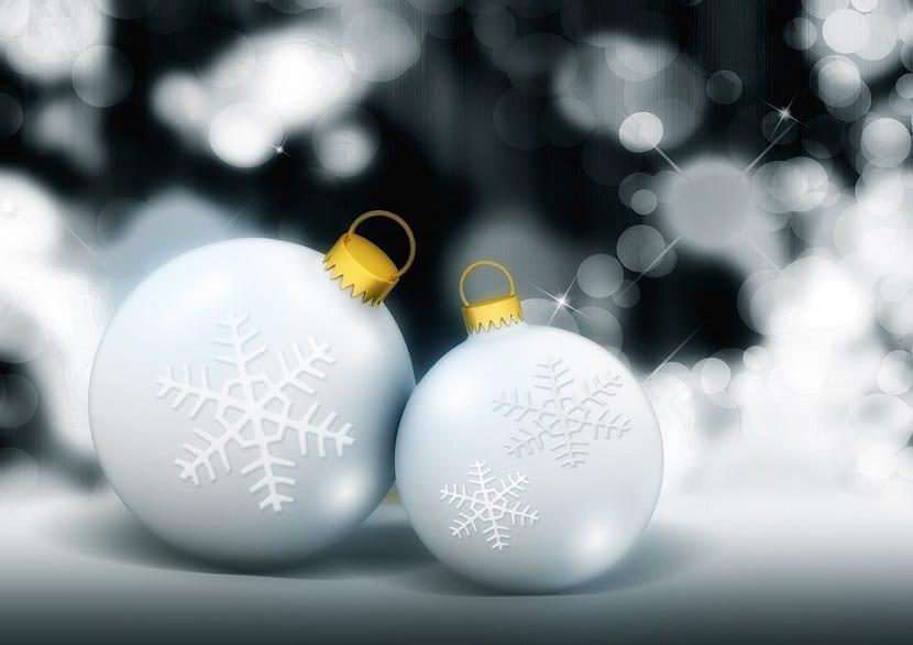 bolas de navidad hechas en casa