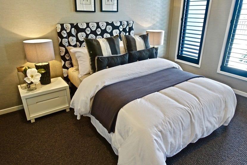 Cabeceros de cama originales con flores