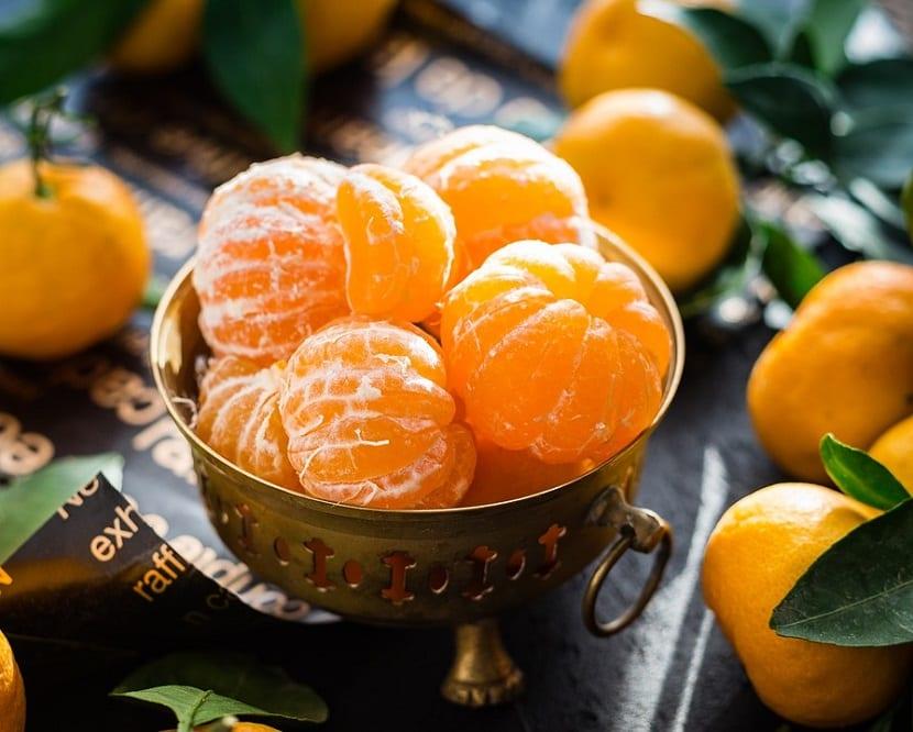 Calorías de las mandarinas