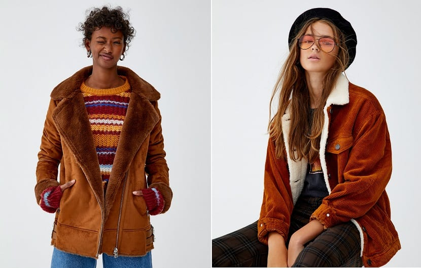 Cazadoras de pull and bear