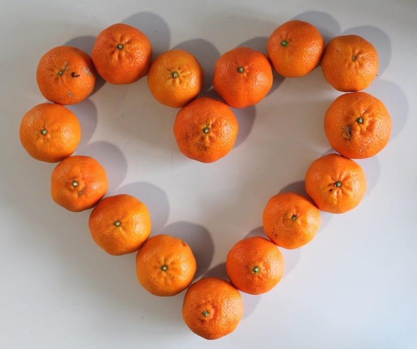 Mandarinas para dietas