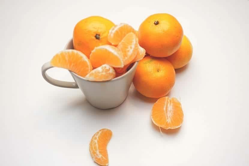 Mandarinas para la salud