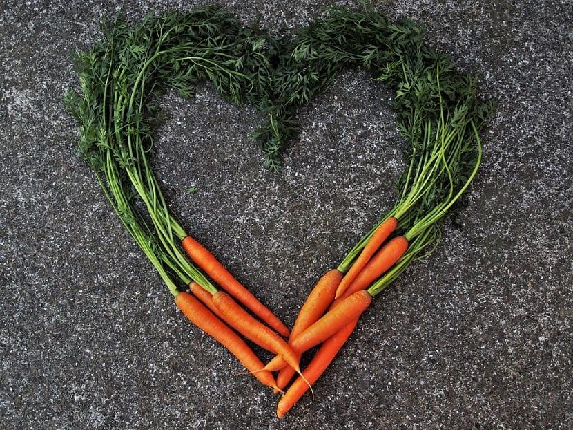 Mascarillas de zanahoria naturales