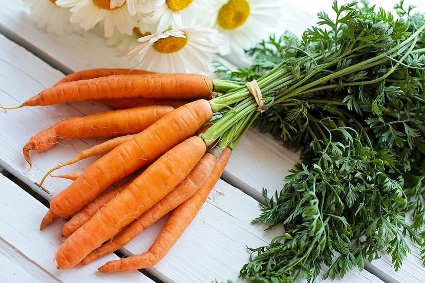Mascarillas de zanahoria para el cabello