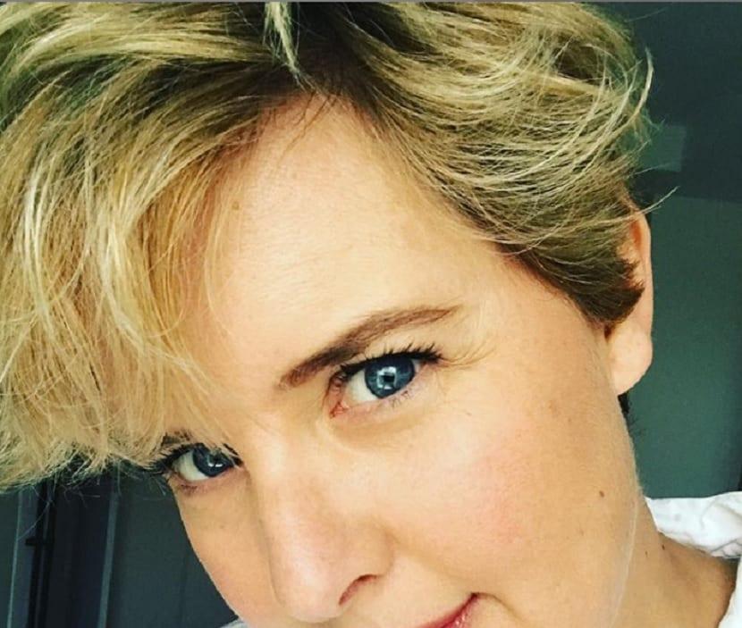 Peinado lateral Tania Llasera