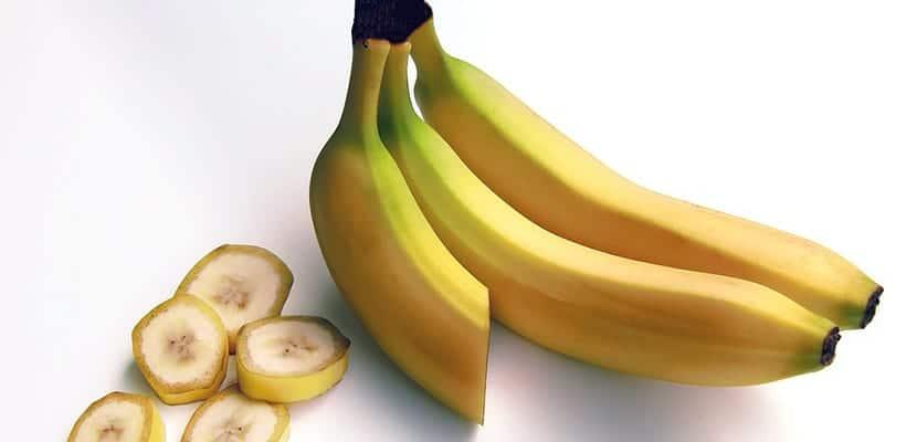 Plátano cortado