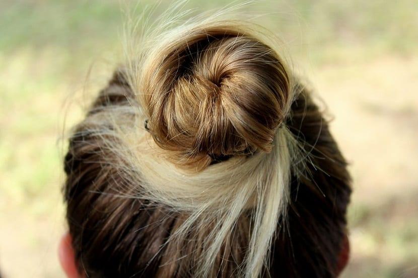 Recogidos para solucionar problemas de cabello