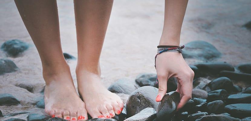 Vinagre para los pies