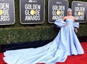 Lady Gaga Globos de Oro