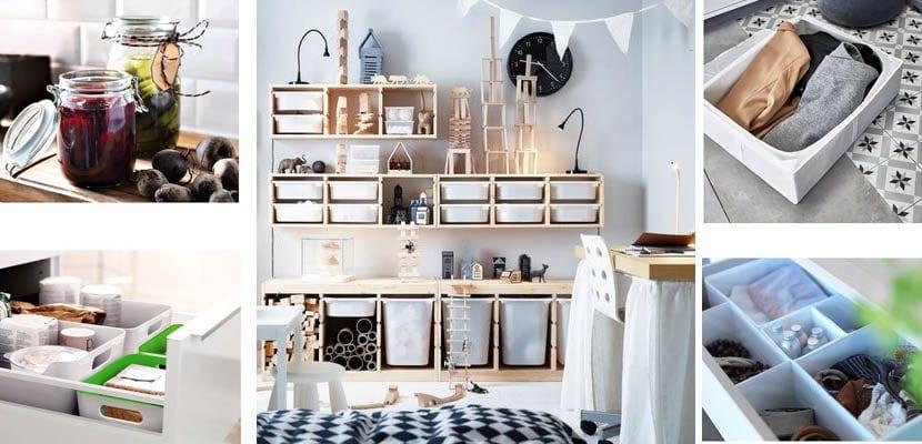 Artículos de Ikea para organizar y ordenar