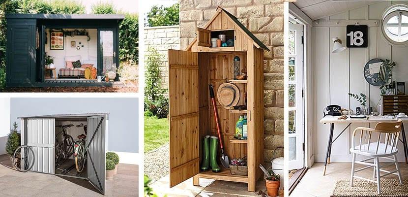 Casetas de jardín: Usos