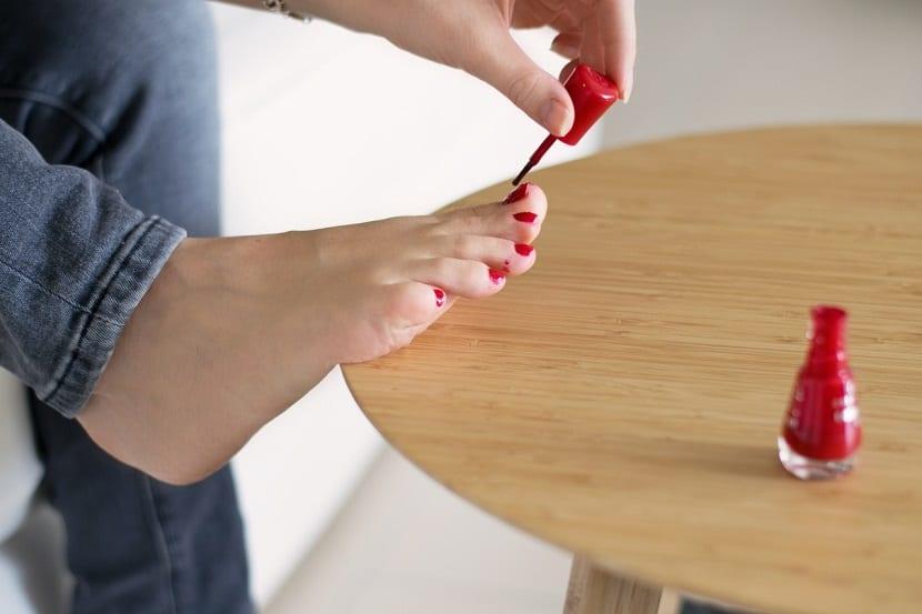 Cuidar las uñas de los pies
