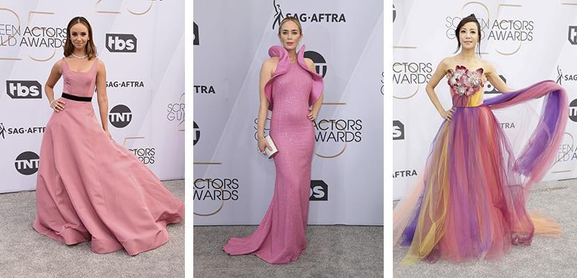 Vestidos en rosa
