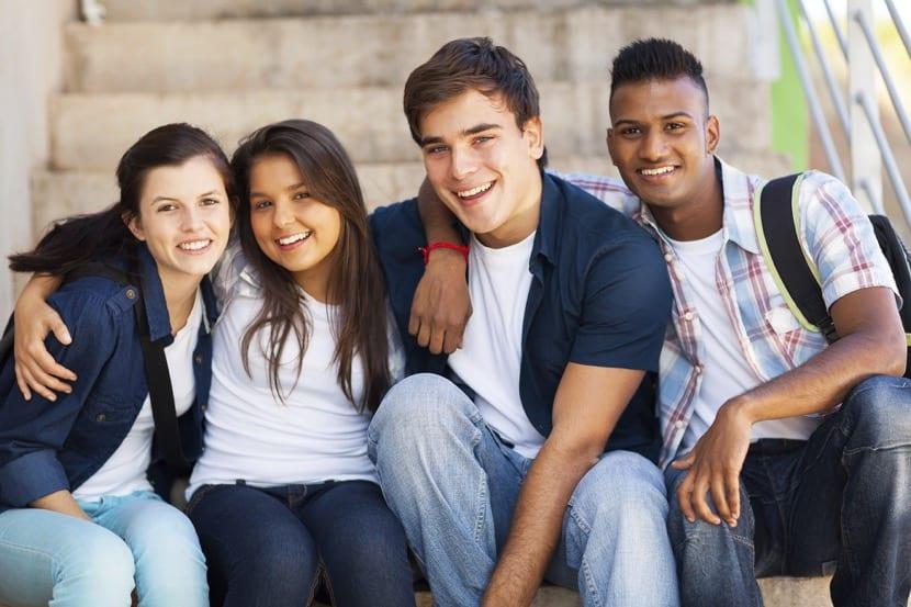 grupo de apoyo adolescente