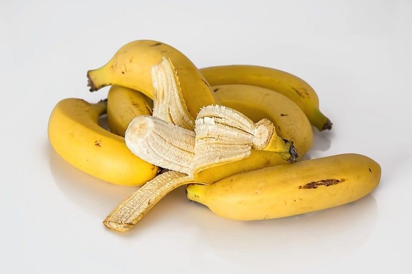 Banana para bajar de peso