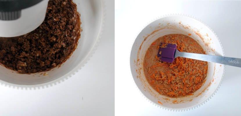 Bizcocho de zanahoria y nueces
