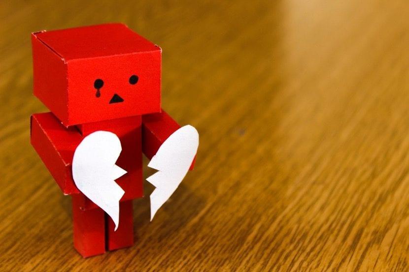 sentir dolor emocional en un divorcio