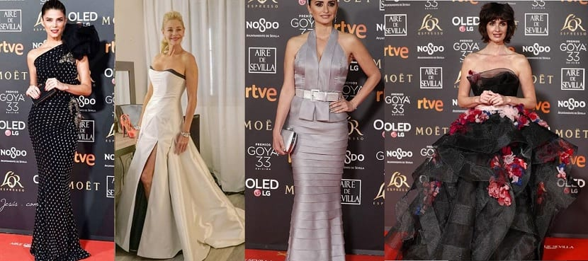 Mejor vestidas premios goya 2019