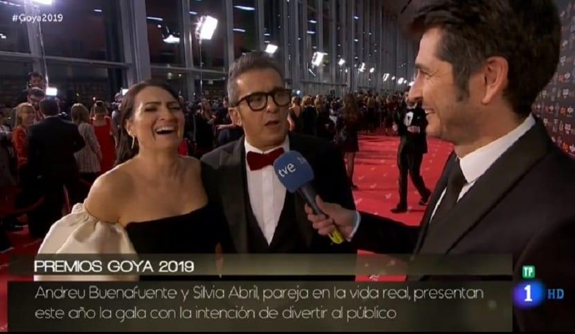 Presentadores Goya 2019