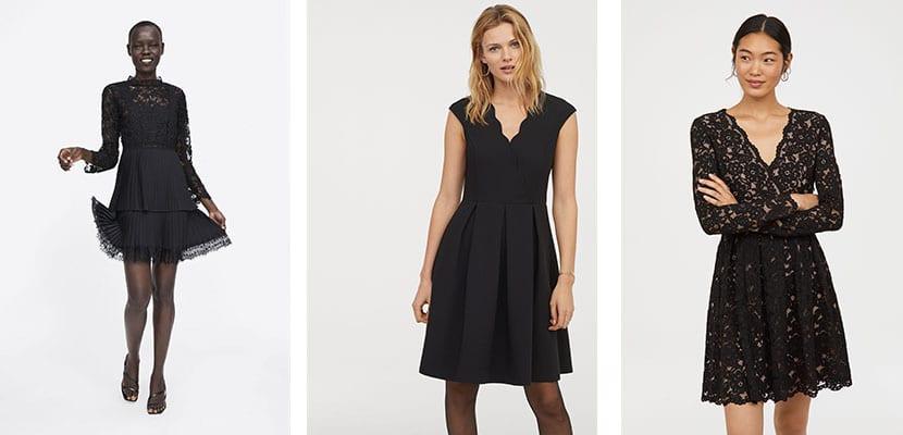 Vestidos en color negro