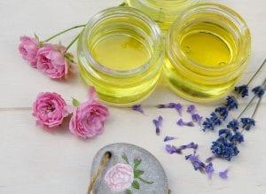 Aceites más usados en belleza